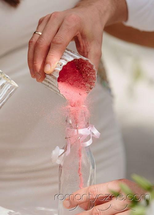 Śluby kolacja dla dwojga, tropikalne śluby