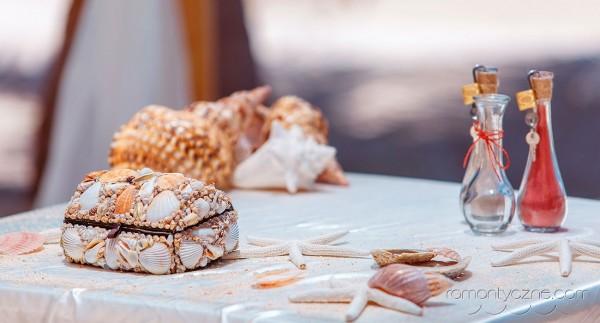 Zaręczyny na rajskiej plaży, romantyczne ceremonie