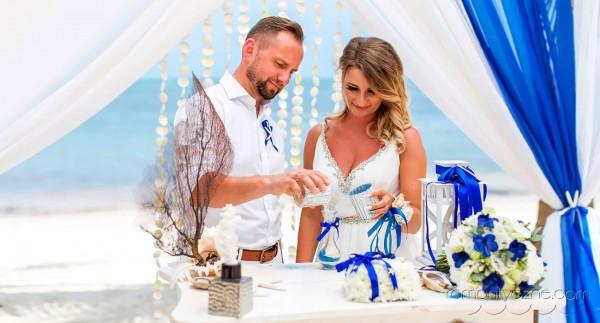 Śluby symboliczne Dominikana, Mauritius, romantyczne ceremonie