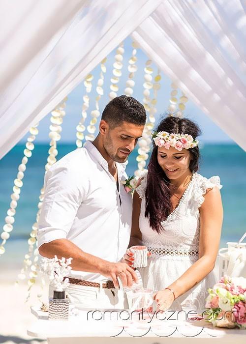 Śluby na dominikańskiej plaży, zagraniczne podróże poślubne