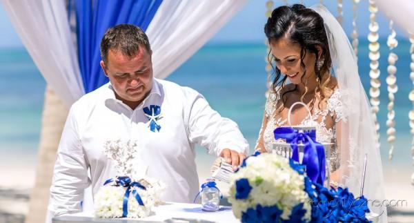 Ślub na rajskiej plaży, romantyczne ceremonie