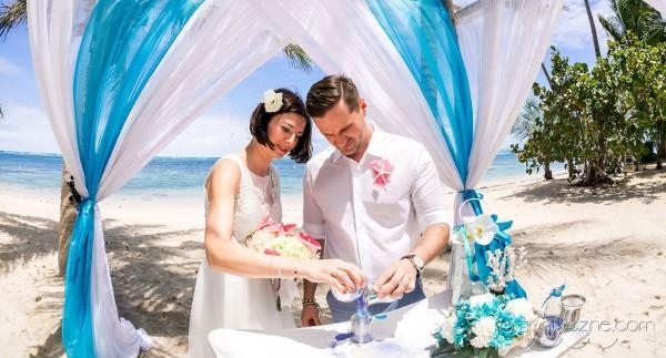 Ślub na plaży, ceremonia piasku