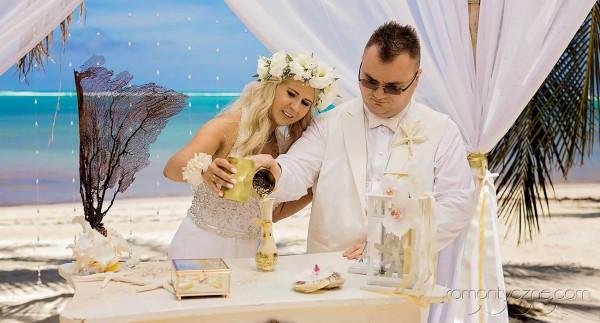 Śluby na plaży, ceremonia piasku