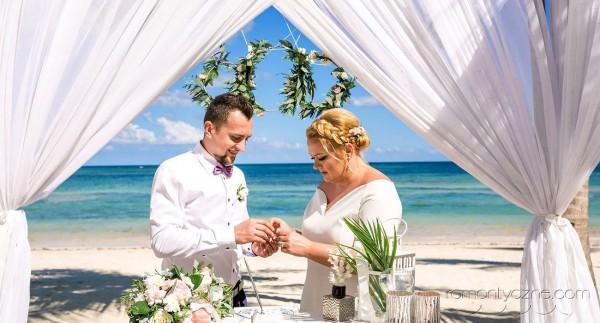 Ślub na prywatnej plaży
