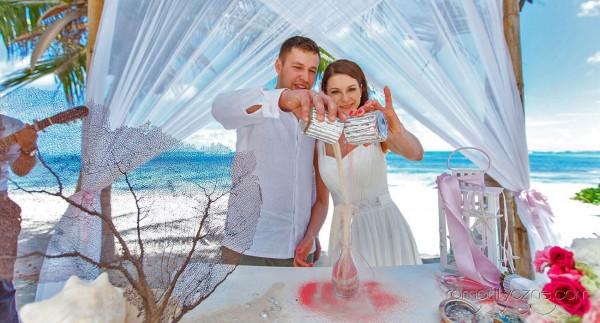 Nieszablonowy ślub na dominikańskiej plaży, organizacja ceremonii