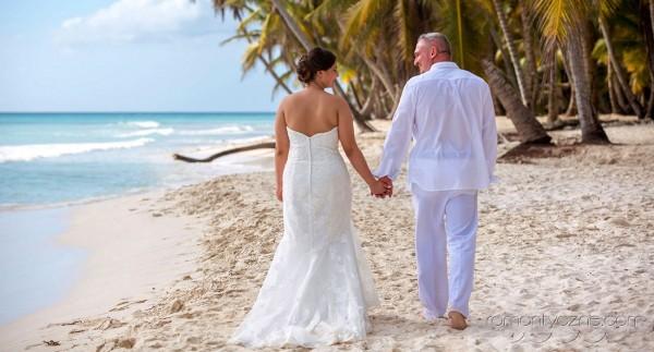 Ceremonie ślubne na rajskiej plaży, romantyczne ceremonie