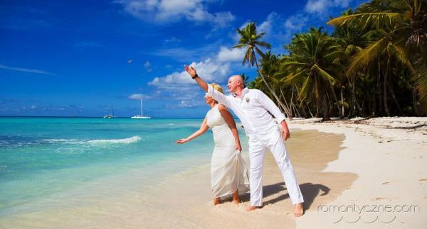 Nieszablonowy ślub Saona Island, Dominikana, Karaiby