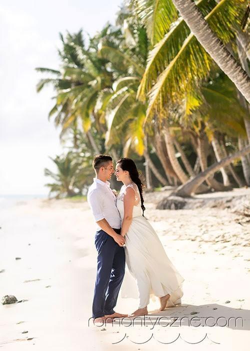 Ślub na plaży, Saona