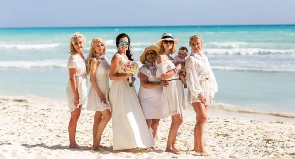 Uroczystość ślubna na plaży