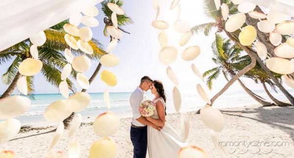 Niesamowita atmosfera zaślubin, Karaiby, Dominikana