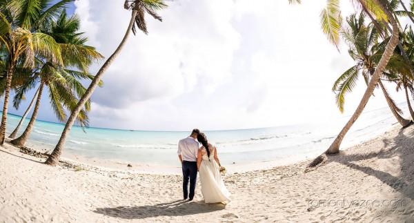 Śluby oficjalne, plaża dla dwojga, Karaiby