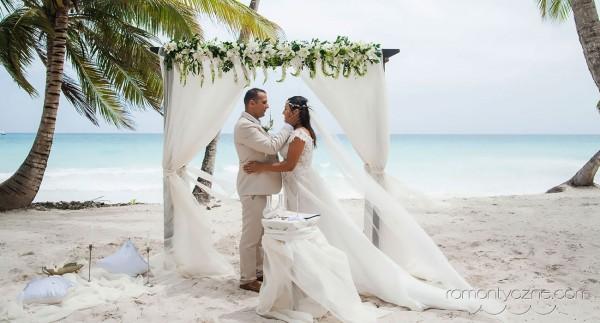 Uroczystość ślubna na Saonie