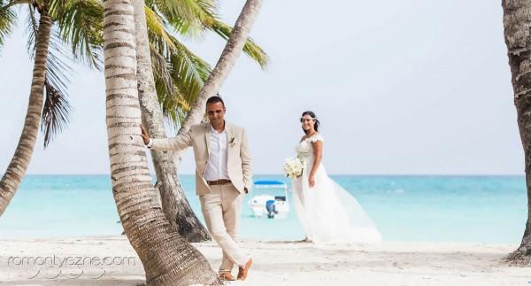 Śluby oficjalne, plaża dla dwojga, Dominikana
