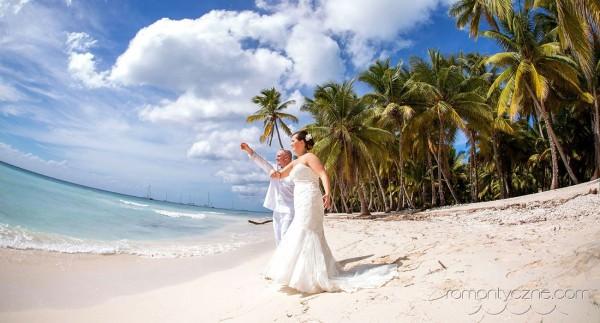 Śluby Saona Island, Dominikana, romantyczne ceremonie