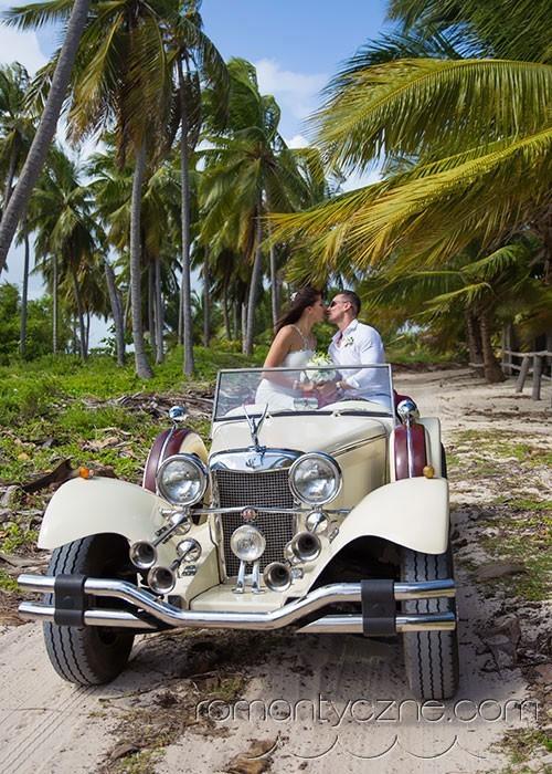 Śluby symboliczne Saona Island, Dominikana, zagraniczne podróże poślubne