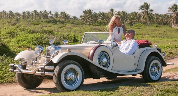 Ceremonie ślubne na dominikańskiej plaży, tropikalne śluby