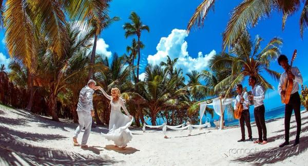 Śluby oficjalne Dominikana, Mauritius, tropikalne śluby