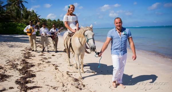 Ceremonie ślubne na rajskiej plaży, organizacja ślubu