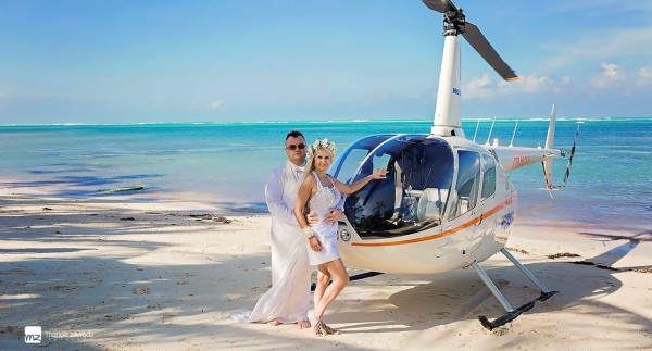 Śluby za granicą na tropikalnej plaży, Karaiby
