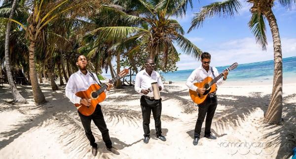Ślub na plaży, zespół muzyczny