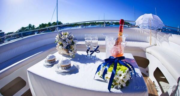 Zaręczyny na prywatnej plaży, Karaiby