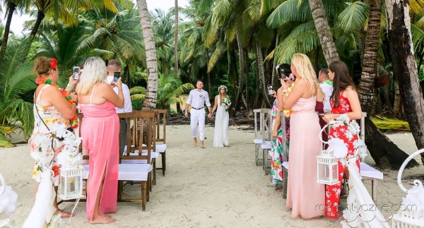 Śluby na prywatnej plaży z rodziną i przyjaciółmi, Dominikana