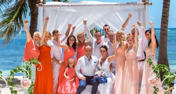 Śluby za granicą kolacja dla dwojga, Karaiby