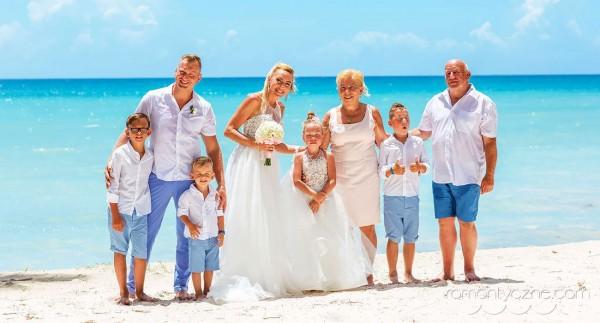 Śluby symboliczne na dominikańskiej plaży, Karaiby
