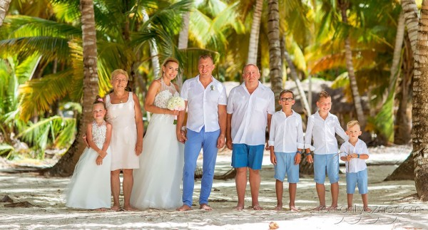 Śluby oficjalne Dominikana, Mauritius, organizacja ceremonii