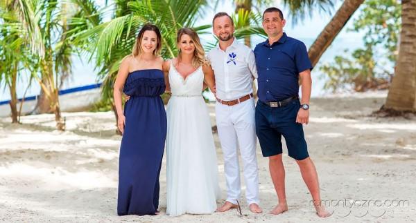 Śluby za granicą na rajskiej plaży, organizacja ceremonii