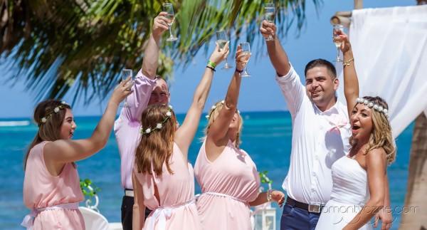 Śluby za granicą Saona Island, Dominikana, podróże poślubne na Karaibach