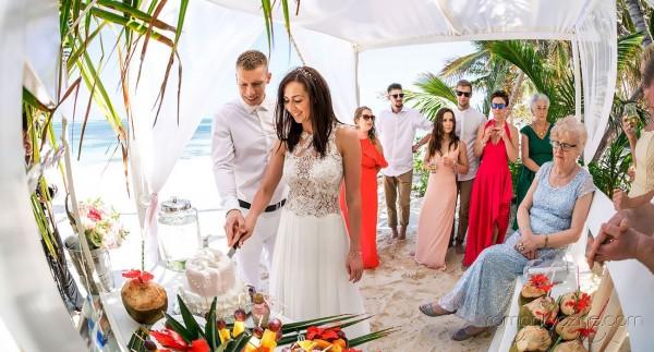 Śluby za granicą, tropikalne śluby