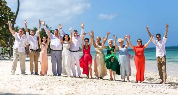 Organizacja ceremonii na prywatnej plaży