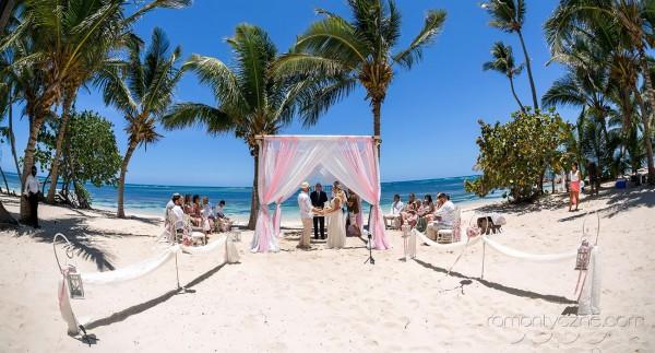 Wesele z rodziną na plaży, Karaiby