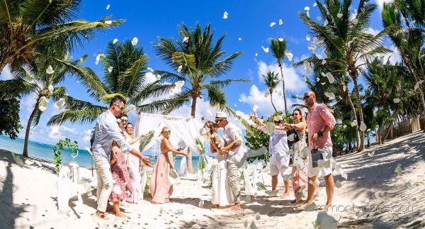 Rodzinnie na plaży, Dominikana