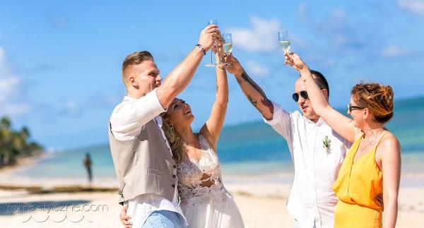 Śluby za granicą Saona Island, Dominikana