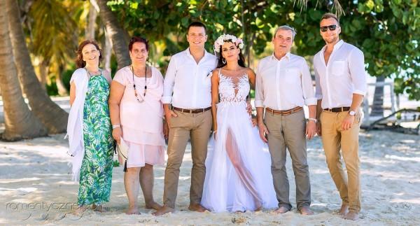 Śluby na prywatnej plaży, wyspa Saona