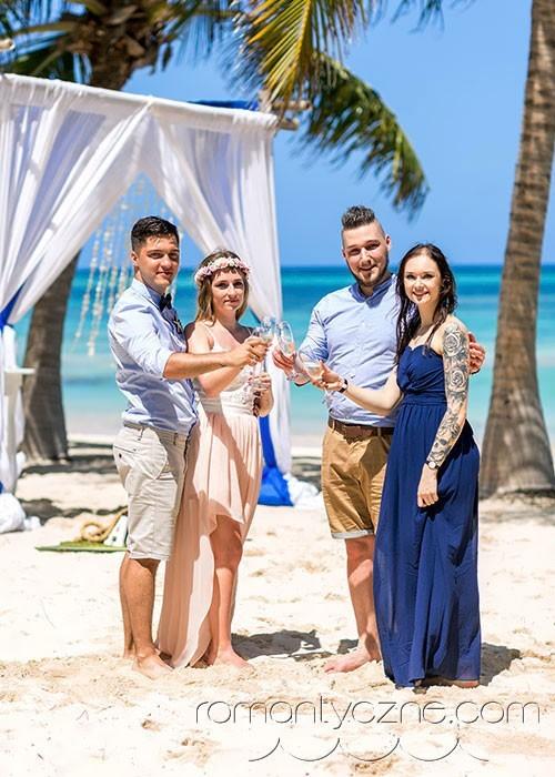 Tropikalne podróże poślubne z przyjaciółmi
