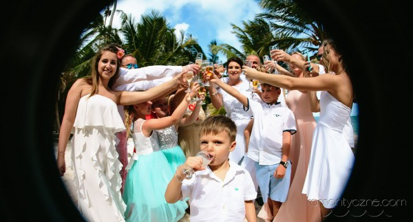 Śluby oficjalne na dominikańskiej plaży, Karaiby