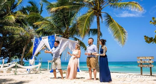 Ślub w gronie przyjaciół, Karaiby