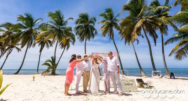 Tropikalny ślub w gronie przyjaciół