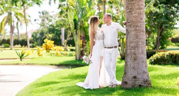 Śluby oficjalne na dominikańskiej plaży, romantyczne ceremonie