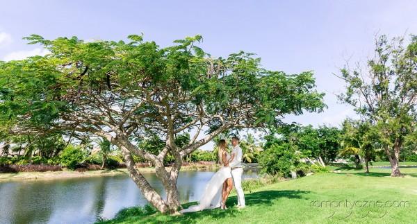 Śluby oficjalne na dominikańskiej plaży, tropikalne śluby