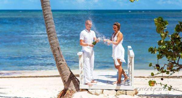 Zaręczyny na rajskiej plaży, organizacja ceremonii