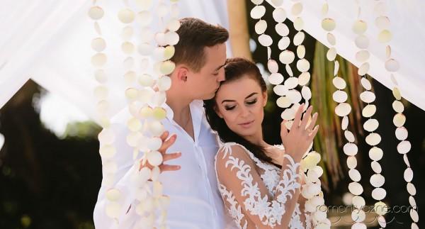 Nieszablonowy ślub na prywatnej plaży, romantyczne ceremonie