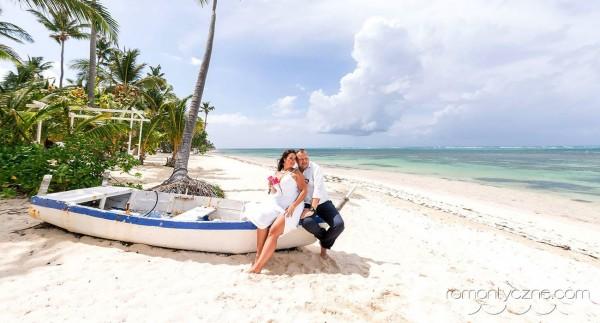 Nieszablonowy ślub na rajskiej plaży