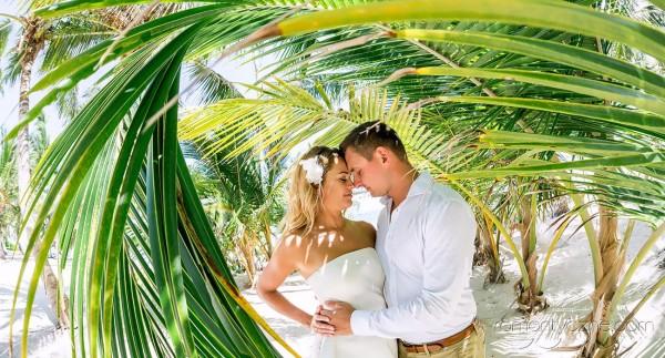 Romantyczne chwile wśród palm