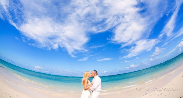 Ślub w tropikach, prywatna plaża