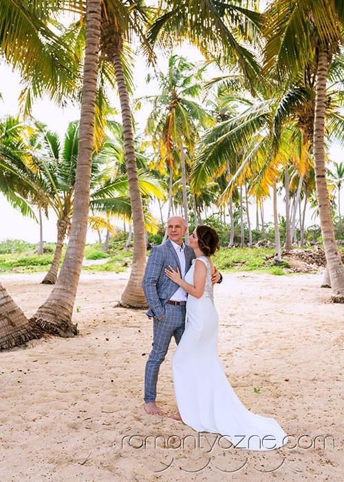 Sesje fotograficzne wśród karaibskich palm