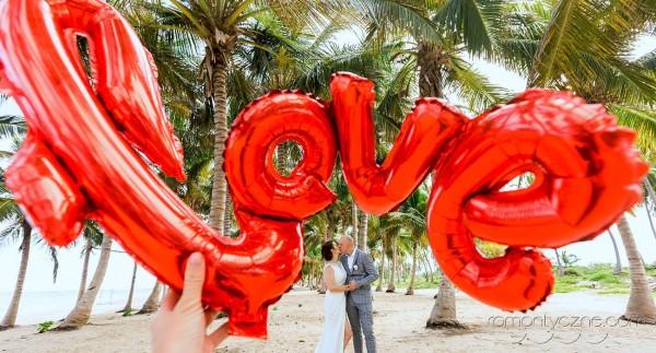 Romantyczne chwile na wyspie Saona